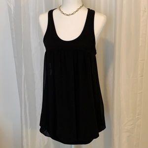 Body Central Razorback Little Black Mini Dress